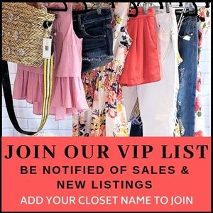 LIKE TO JOIN - LEARN ABOUT SALES & NEW ARRIVALS!